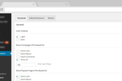 Pinterest Clone based in Wordpress